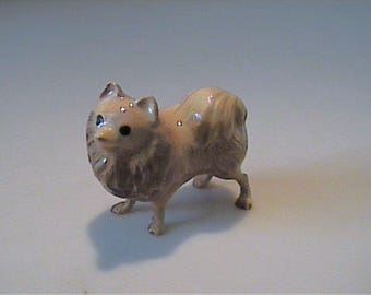 Vintage Hagen Renaker miniature Pomeranian dog