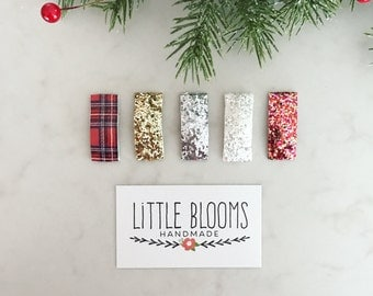 Holiday Snap Clips - Hair Clips