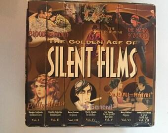 Golden Age of Silent Films (7 VHS Box Set)
