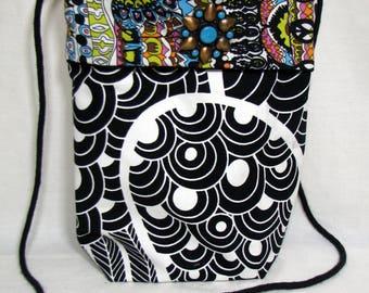 Bag Cross Body Bag Upcycled Handbag Gift for Her OOAK Bag Shoulder bag Boho bag