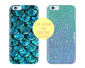 Fish Scale Case Samsung Galaxy s7 Edge Case Blue Sea Samsung Galaxy S7 iPhone 6 Plus Case Turquoise Mermaid iPhone 6 Case Phone Case