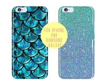Fish Scale Case Samsung Galaxy s7 Edge Case Blue Sea Samsung Galaxy S7 iPhone 6 Plus Case Turquoise Mermaid iPhone 6 Case Phone Case