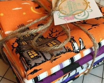 Halloween Fat Quarter Riley Blake Fabric Bundle