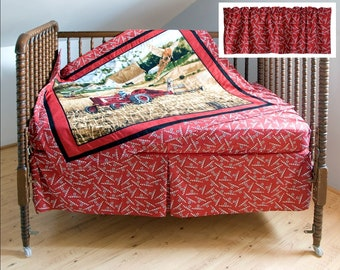 Tractor Bedding Etsy Uk