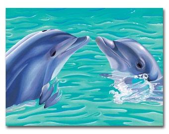 Life's Porpoise 8x10 print by Alicia Wishart