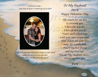 Happy Valentines to My Husband Keepsake and Gift