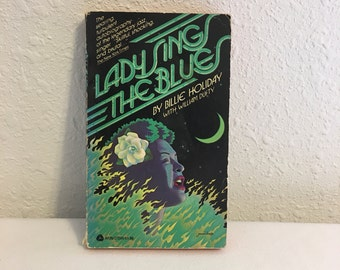 Lady Sings the Blues, Billie Holiday with William Dufty, Vintage Paperback