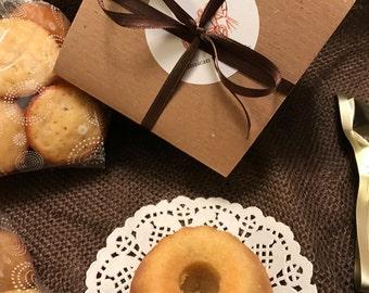 Rum Cakes - Very Mini Rum Bundt Cakes 6 (1/2 doz)