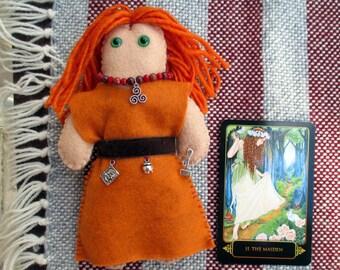 Brigid Poppet - Voodoo Doll, Juju Doll, Spirit Doll, Magic Doll, Goddess Doll