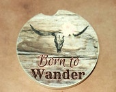 Born To Wander Car Cup Holder Holder Car Coaster Auto Accessories