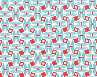 20% Off Sale Daysail in Aqua by Bonnie and Camille for Moda - One Yard - 55101 12