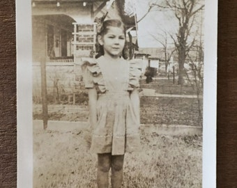 Original Vintage Photograph Shy Shawna