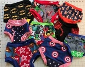 Toddler Training Pants - Potty Training - Cloth Trainers - Boxers - Briefs