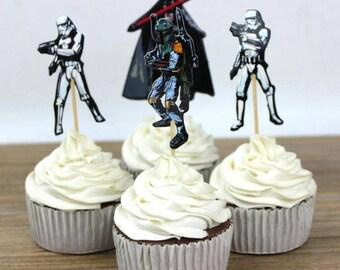 Star Wars Cupcake Picks