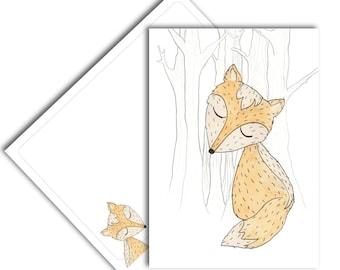 little fox card