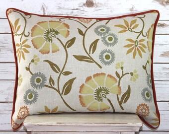 Galbriath & Paul Linen Hand Blocked Pillow