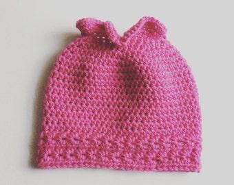 Crochet Pattern // Starlight Ponytail Hat // Digital Download // Easy // Tutorial