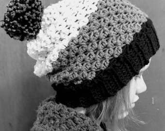 Crochet Pattern // Elizabeth Beanie // Digital Download // Easy // Tutorial