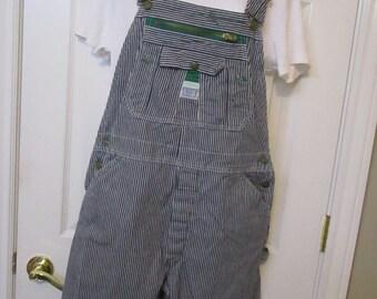 Denim Overall's, Dungarees, Engineer style Carpenter Overall's, Capri Bib Overall's, Womens size 36X16