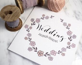 Grace Wedding Invitation, folded wedding invitation