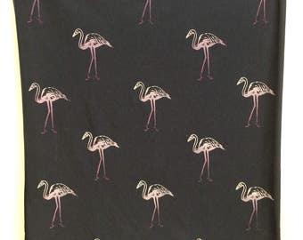 Pink Flamingos infinity scarf