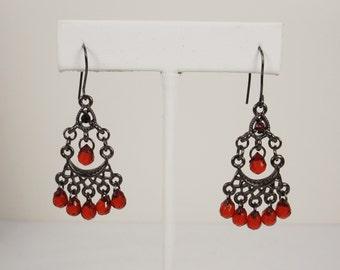 Vintage Boho Chandelier Earrings