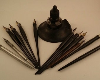 Calligraphy Pen Holder Etsy