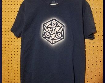 D20 Dice shirt - Large