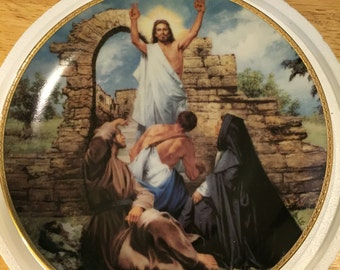 Danbury Mint Collectible Plate - The Resurrection