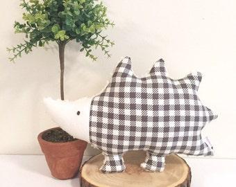 Hedgehog Pillow, Hedgehog Plush, Hedgehog, Woodland Baby Gift, Nursery Decor, Woodland Nursery, Forest Decor