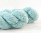 Hand Dyed Aussie Sock Yarn Eggshell Blue