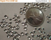 Black Friday Weekend - 4x1mm, Silver-Plated, Scalloped Bead Caps - 100 Beadcaps or, choose a Larger Pkg from the 'Select an Option' menu