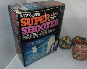 Wear Ever Super Shooter Electric Cookie Canape Candy Maker Model 70001