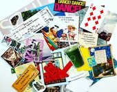 Paper Ephemera Pack 2: Papers and Supplies for Art Collages, Art Journals, Greeting Cards, Mail Art, and more Fun Craft Projects