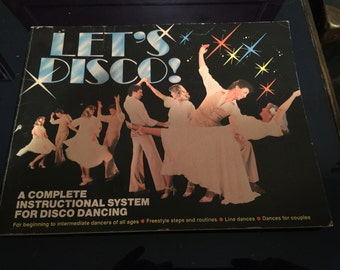 Let's Disco Instructional Disco Dancing Book - 1978