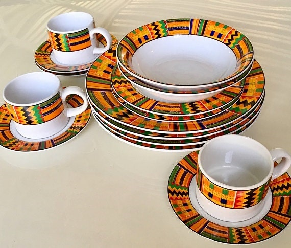 Free Shipping Retro Sakura Dinnerware Stoneware Tableware