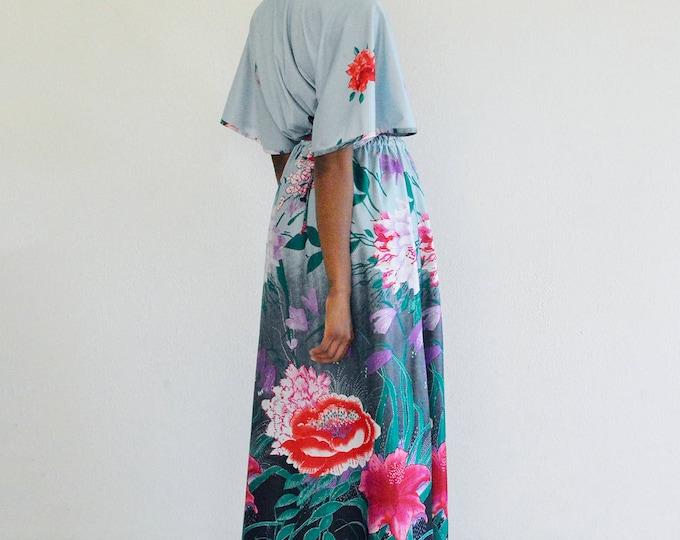 SALE 40% OFF Floral Flutter Maxi Dress