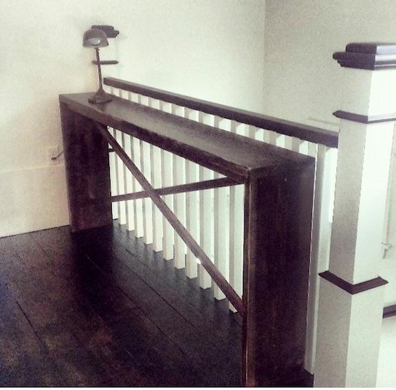 The Stephanie Black/ebony counter style Sofa Entry Hall Table