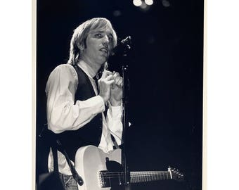 Tom Petty LIve Concert Shot 8 by 10 Inches