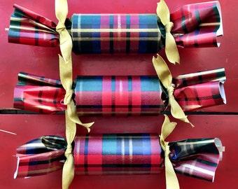 Plaid Christmas Cracker