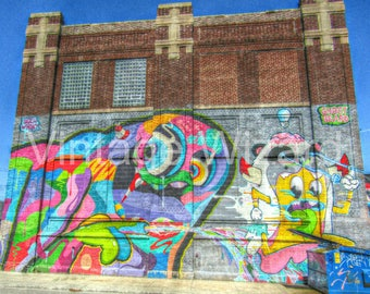 Mixed media,Art,Digital art, Digital, Digital download,Graffiti,Colorful