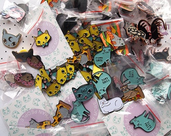 Enamel Pin SECONDS - SALE pins - Slight imperfections - Seconds - Sale