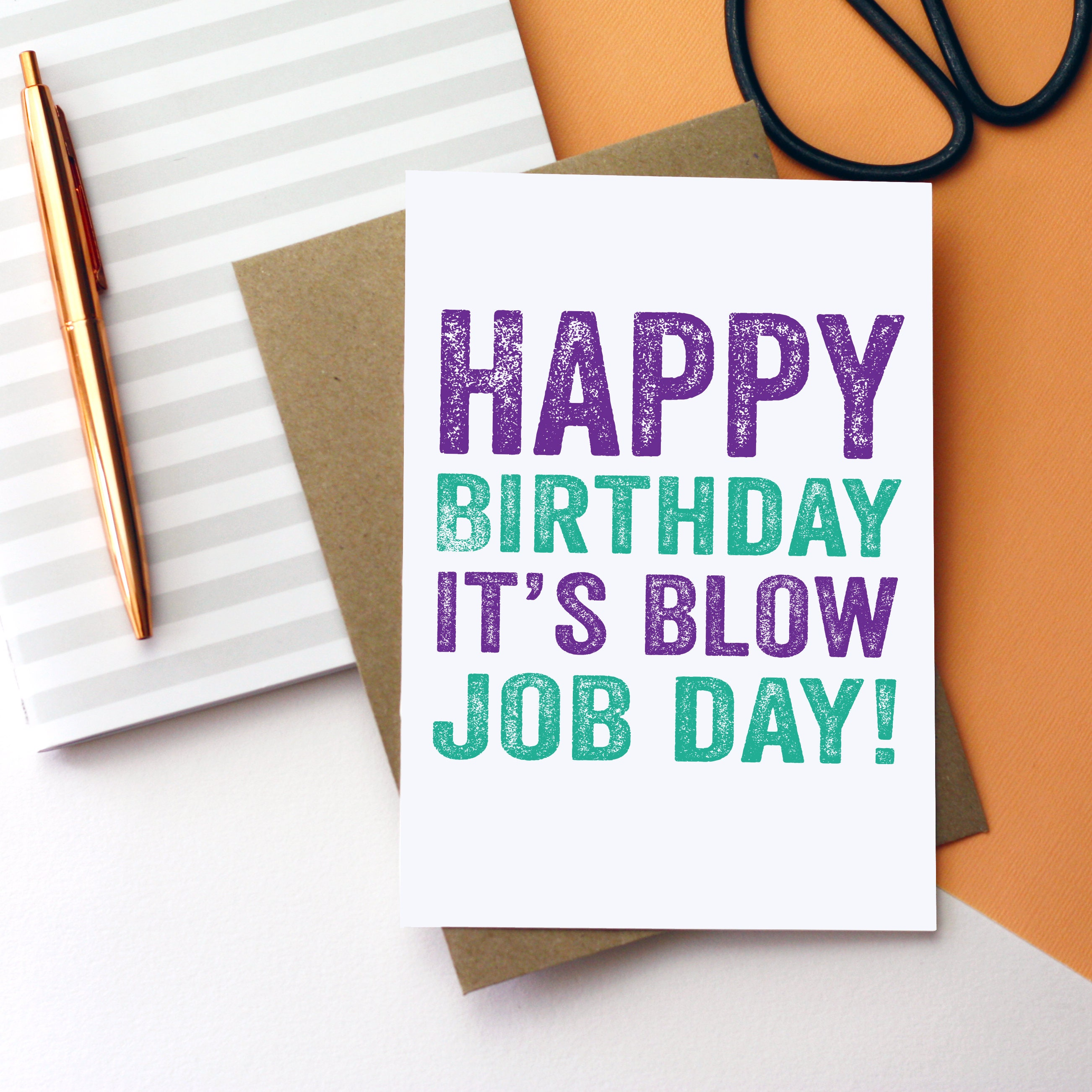 Birthday blow jobs