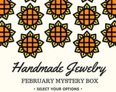 February 2017 Mystery Jewelry Box - Themed Mystery Box - Surprise Jewelry Box - Grab Bag - Subscription Box