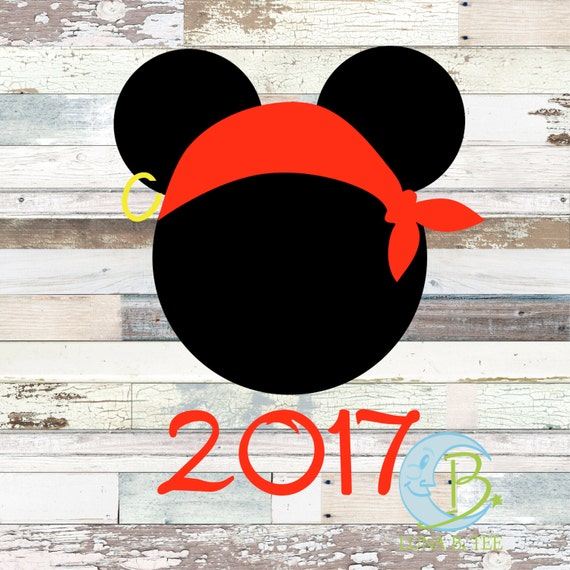 INSTANT DOWNLOAD Disney Family Vacation Cruise Pirate Night 2017 Shirts Printable DIY Iron On to Tee T-Shirt Transfer - Digital File