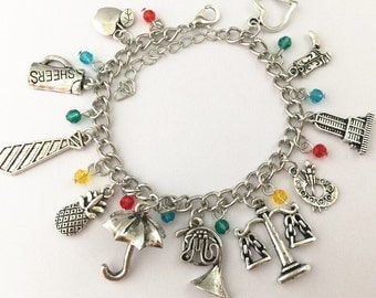 How I Met Your Mother inspired charm bracelet