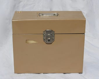 Industrial Metal Filing Box With KEY Metal Storage Box file cabinet