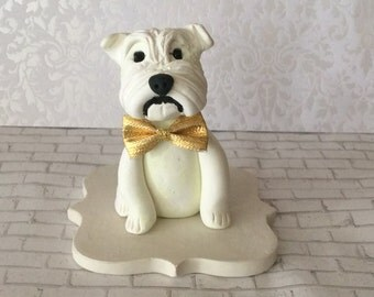 Polymer clay Pet cake topper,pet hospital, Veterinerian,dogs, Yorkie dog, Animal business card holder, desktop card holder.