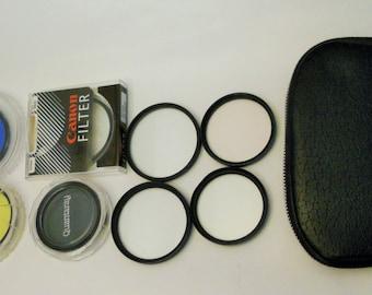 Lot of 11 Camera Lens Filters