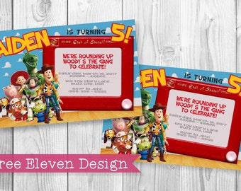 Toy Story PRINTABLE Birthday Invitation